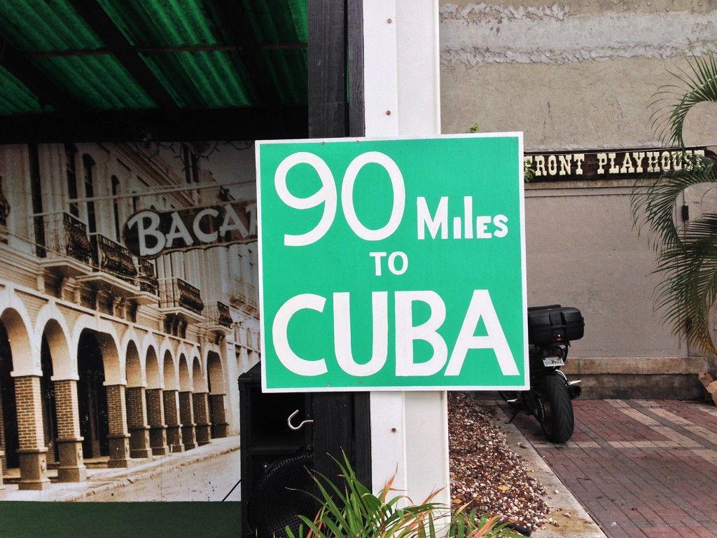 90 miles to Cuba #KeyWest #Florida @GingerandNutmeg