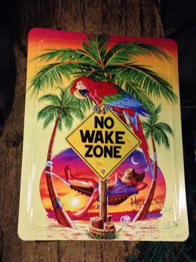No wake zone #KeyWest #Florida @GingerandNutmeg