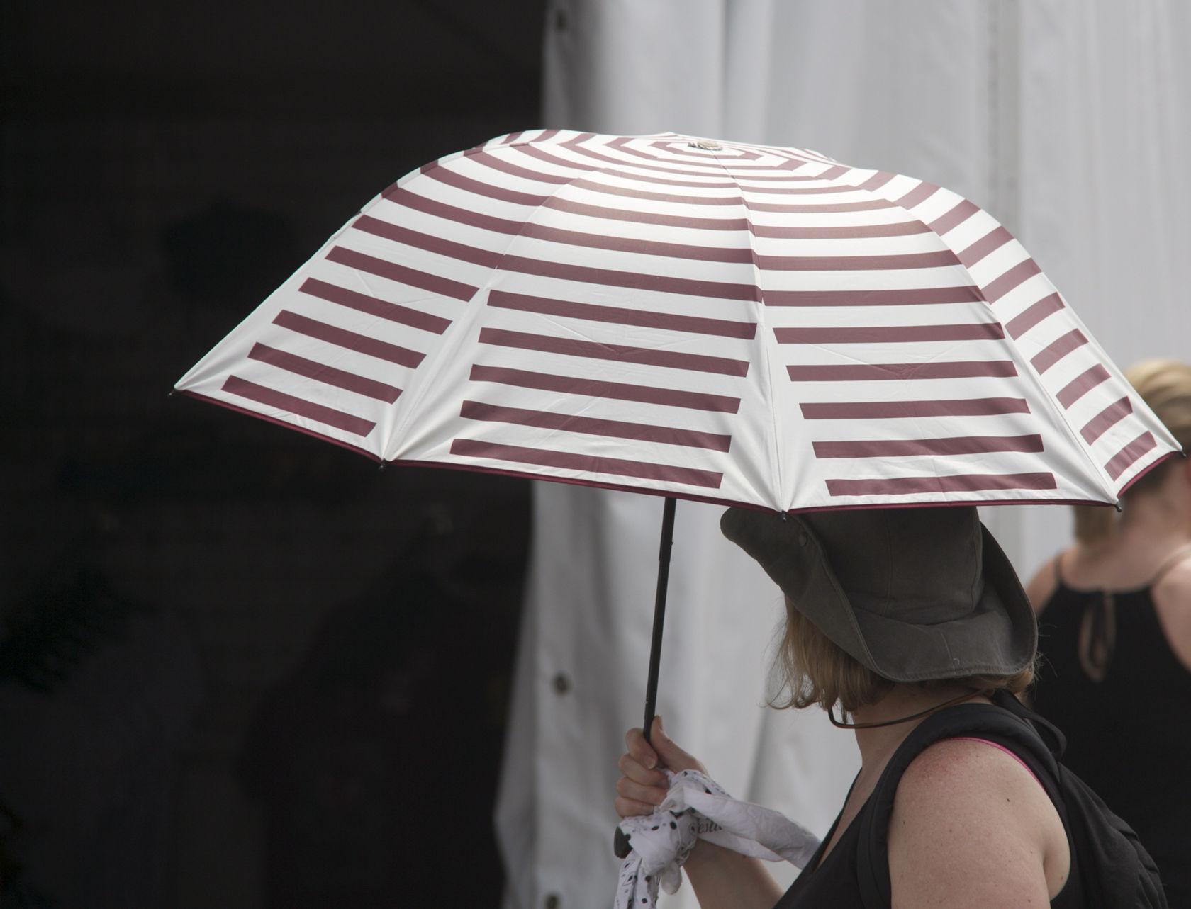 Umbrellas Jazz Fest @JazzJest #JazzFest #NOLA #NewOrleans