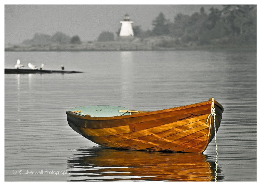 Georgian Bay Dinghy #ParrySound Richard Culverwell Photography