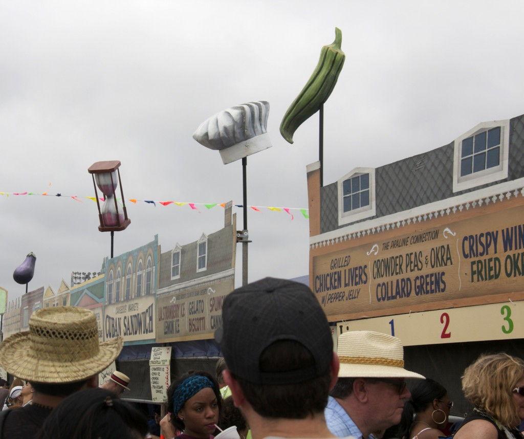 Jazz Fest Food @JazzFest #NOLA #NewOrleans