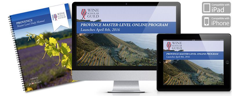 Provence Master level Program WSG @WineScholarGuil