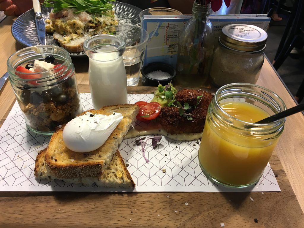 Breakfast sampler Rustic Sourdough Melbourne @rustica_hq