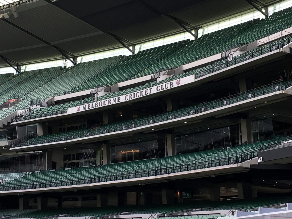Melbourne Cricket Grounds @MCG