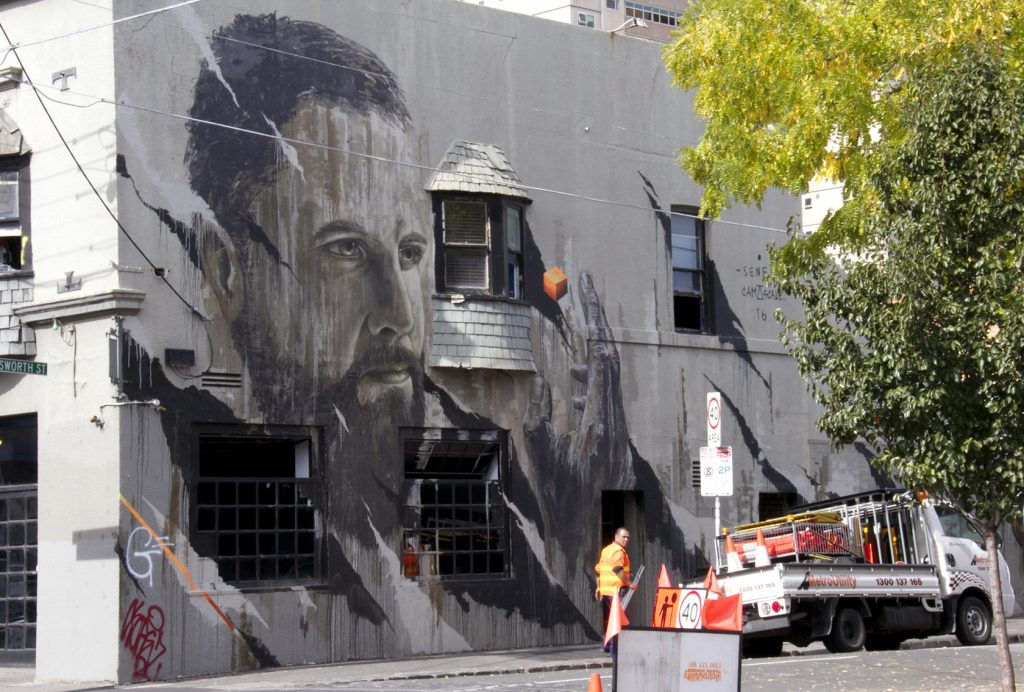 #StreetArt Melbourne Collingwood