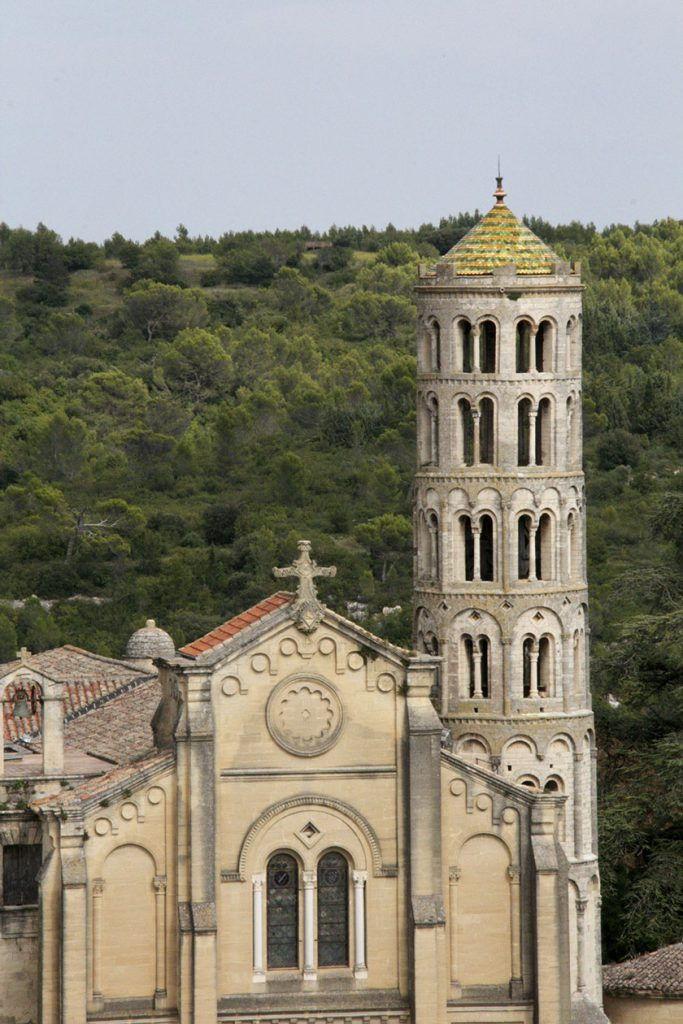 Uzes Cathedral Fenestrelle Tower #Uzes @GingerandNutmeg