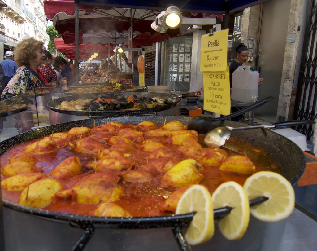 Encornet Farci Sete Market #Markets @GingerandNutmeg