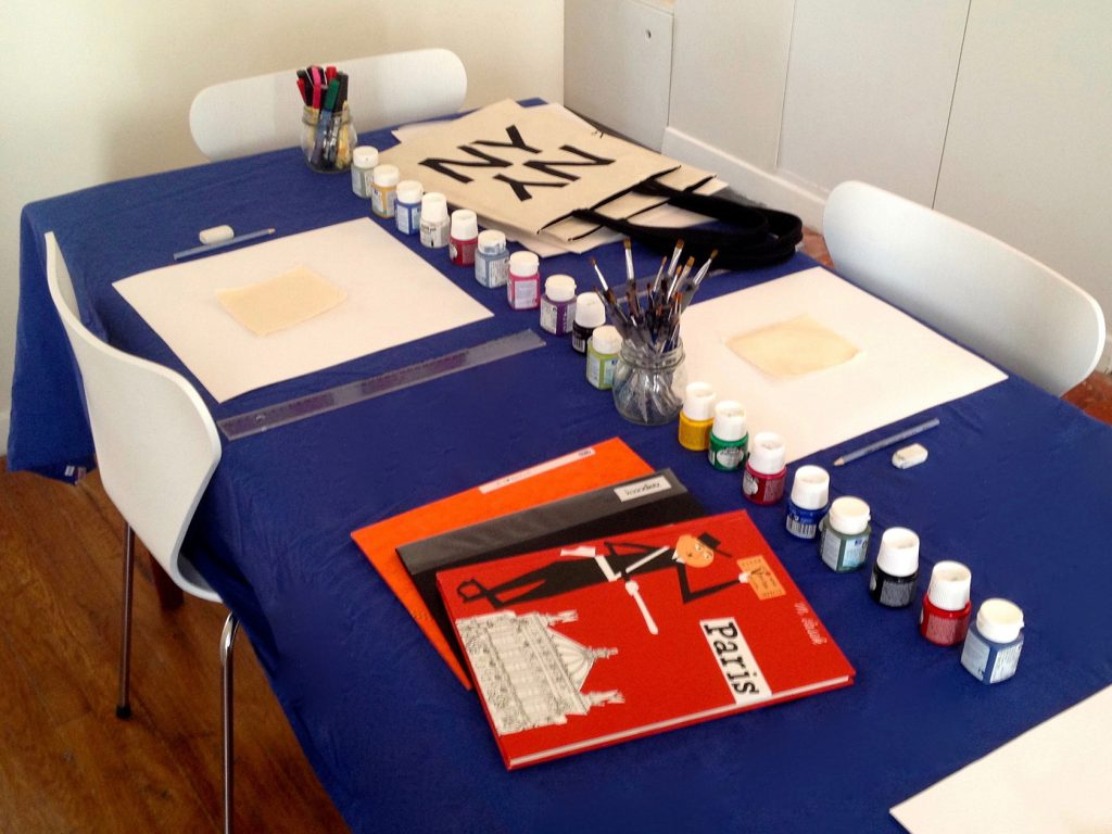 kasia-dietz-bag-painting-workshop @kasiadietzbags