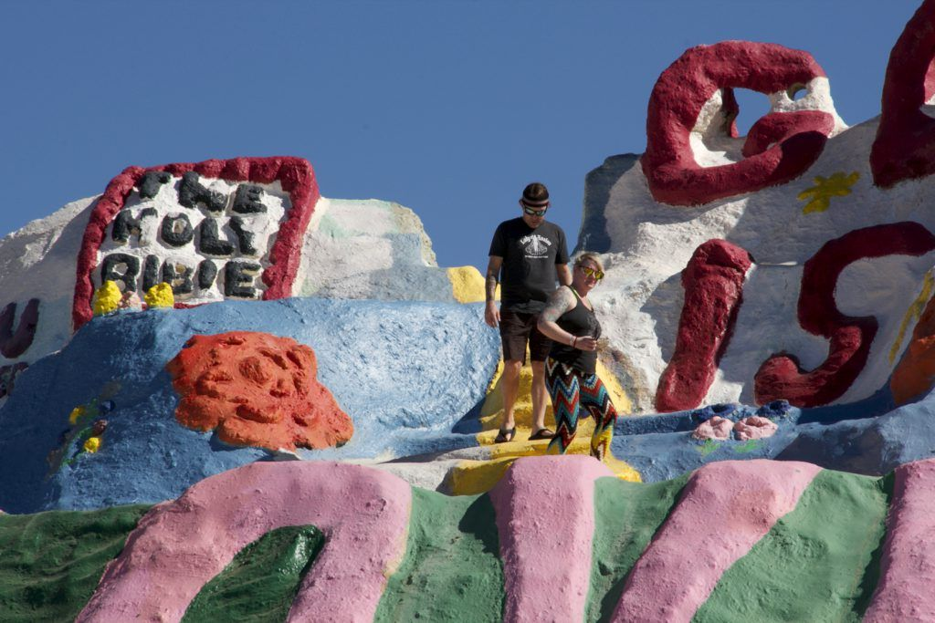 Far from Reality Slab City and Salvation Mountain