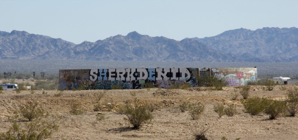 Slab City #California @GingerandNutmeg