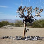 Slab City shoe Tree #California @GingerandNutmeg