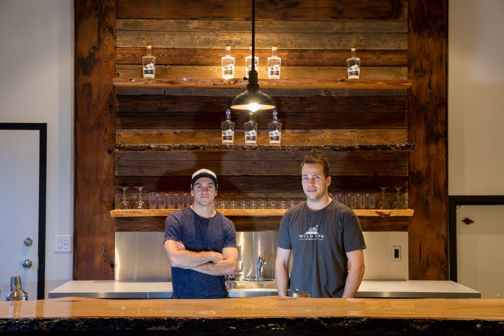 Wild Life Distillery Owners in Canmore