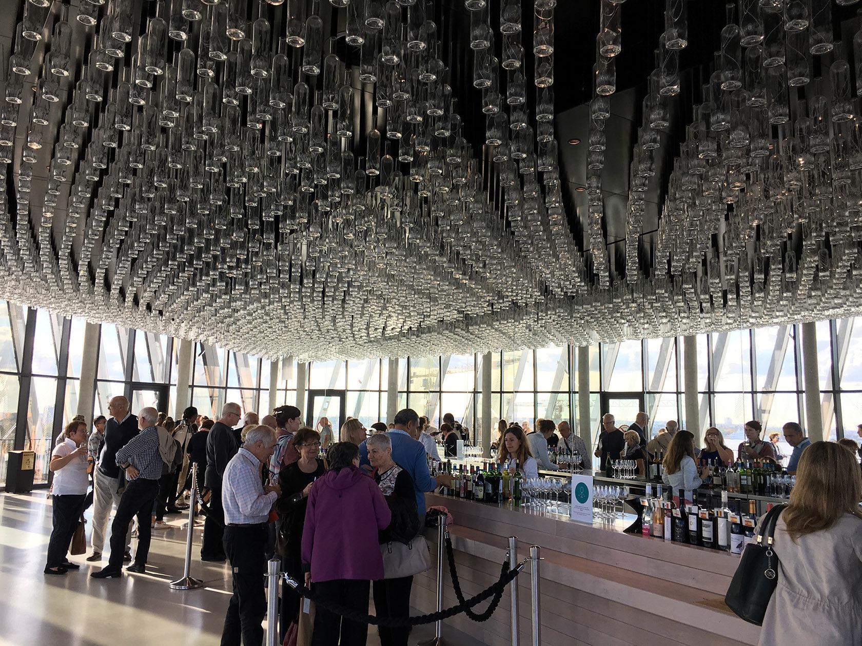 Bordeaux Cité du Vin Belvedere Wine Tasting