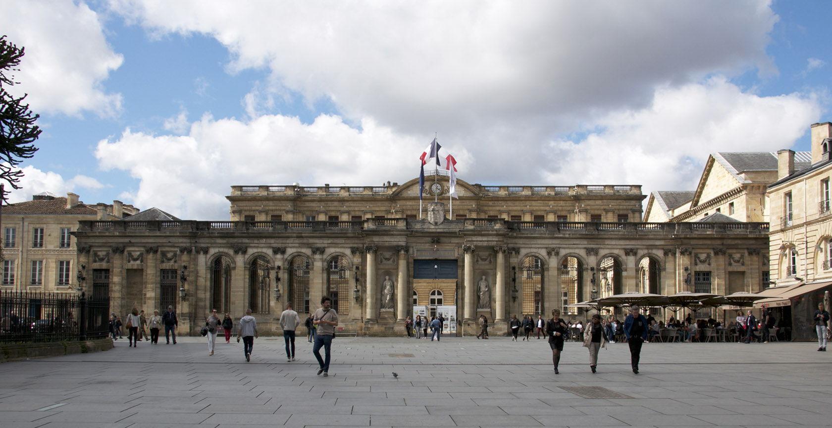 Bordeaux City Hall Hotel de Ville