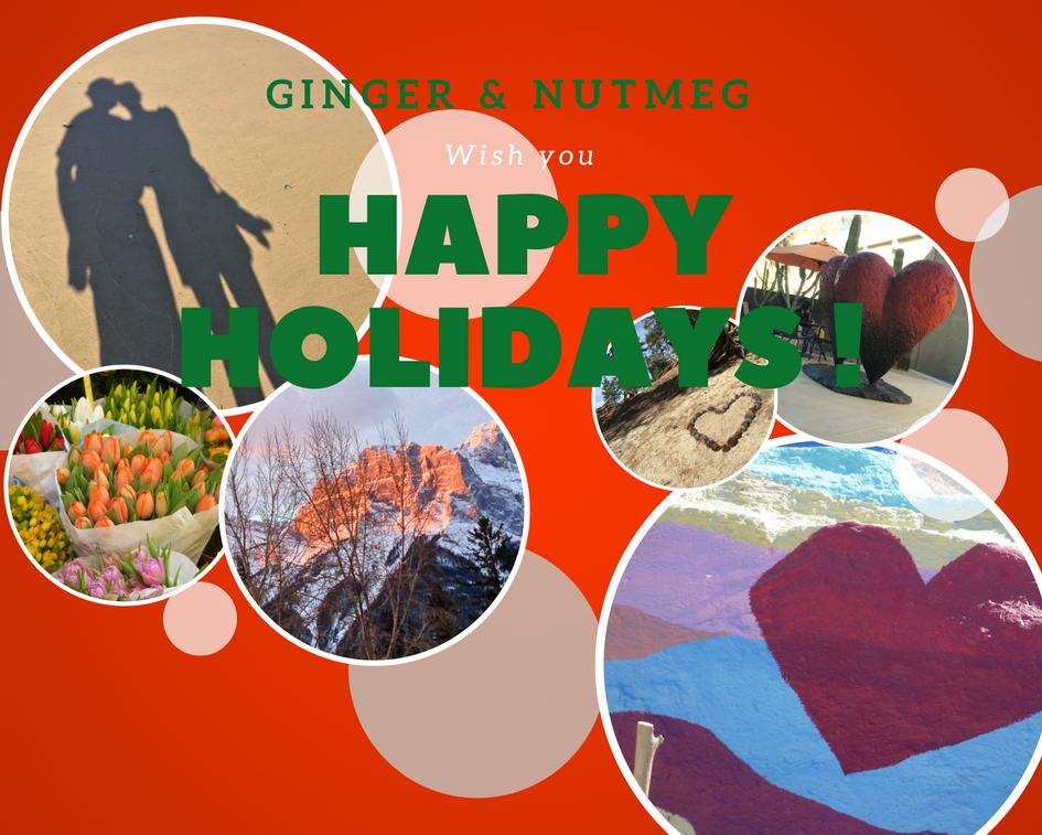 Happy Holidays Ginger and Nutmeg 2017